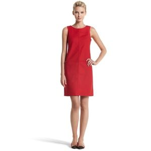 WHBM Red Shift Dress